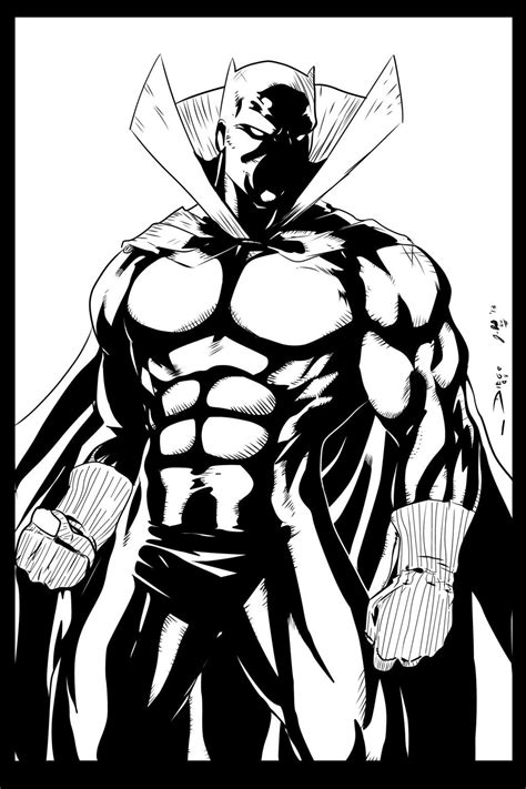 BLACK PANTHER By Diego Ink by me by ~jbellcomic on deviantART | T'Challa: The Black Panther