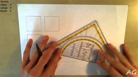technisch zeichnen tutorial dreitafelprojektion
