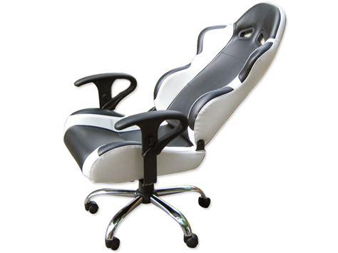 fauteuil de bureau cuir blanc siege baquet fauteuil de bureau chaise de bureau baquet
