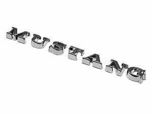 mustang mustang lettering emblem chrome 05 09 all With mustang lettering