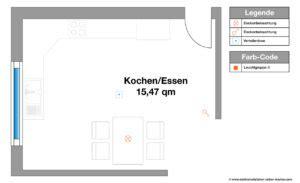Esszimmer Le Blendfrei by Elektroinstallation Planen F 252 R K 252 Che Und Essbereich