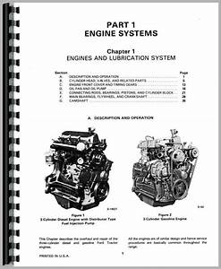 Ford 445 Industrial Tractor Service Manual