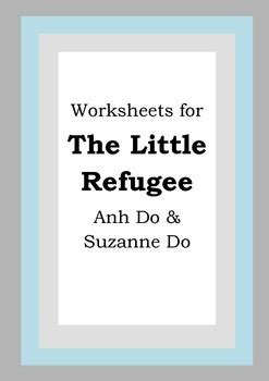 worksheets    refugee anh suzanne