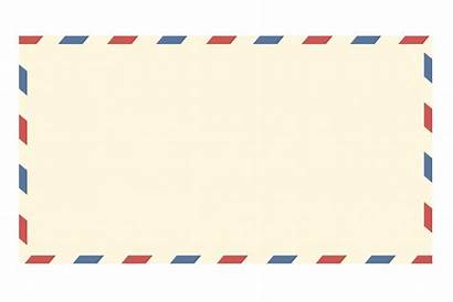 Envelope Letter Airmail Mail Clipart Postal Paper