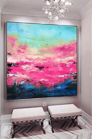 Abstract-Pink-Painting