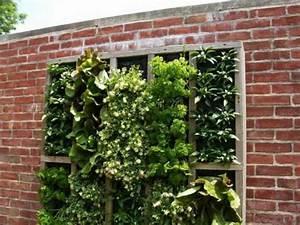 Habiller Un Mur : d coration murale ext rieure 72 id es et conseils en ~ Melissatoandfro.com Idées de Décoration