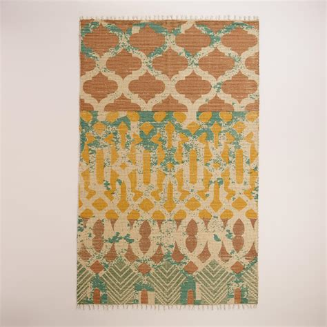 rugs world market 5 x8 moroccan tile jute area rug world market