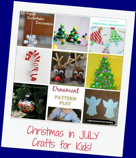 mega christmas in july thematic activities for preschool