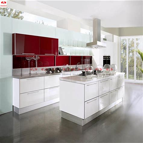 White Metal Kitchen Cabinets by High Gloss Stainless Steel White Outdoor Kitchen Cabinets