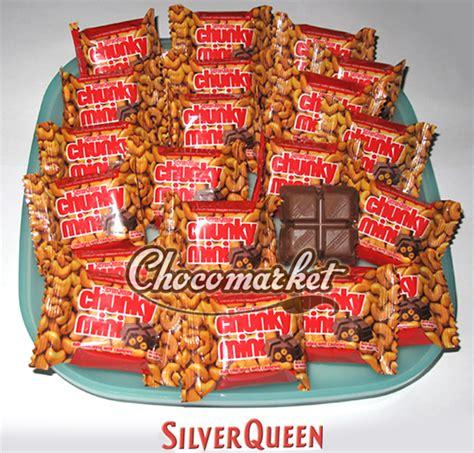 Chunky Bar 33gr Isi 12pcs coklat silverqueen chocomarket