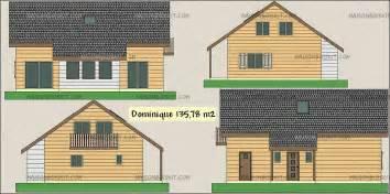 prix maison bois 5 chambres mezzanine