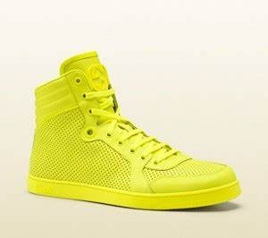 Gucci Neon High Top Sneakers 7