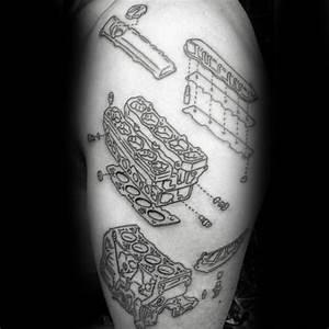50 Engine Tattoos For Men