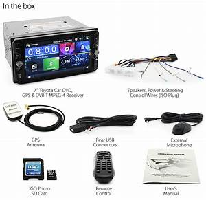 Car Dvd Gps Digital Tv For Toyota Avensis Rav4 Hilux