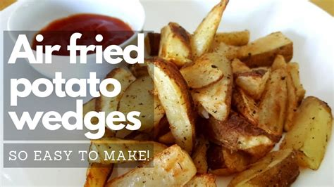 fryer air potato wedges recipes fried easy