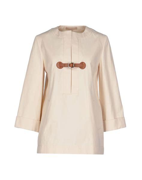 michael kors blouse michael kors blouse in lyst