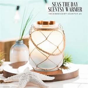 NEW! SEAS THE DAY BEACH SCENTSY WARMER Scentsy® Buy
