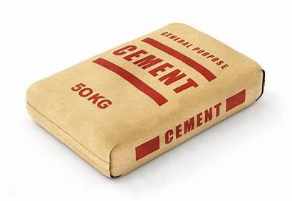 Cement Bag Sack Background Blocks Bags Clipart