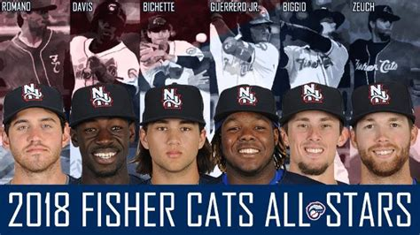 fisher cats voted   star team fisher cats