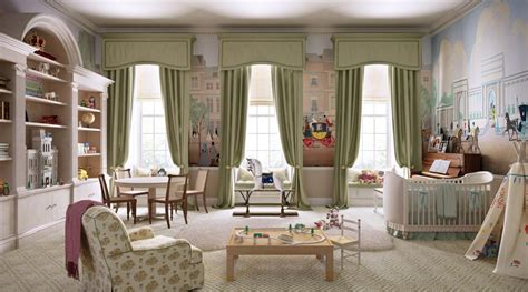 William And Kate's Nursery For Royal Baby At Kensington