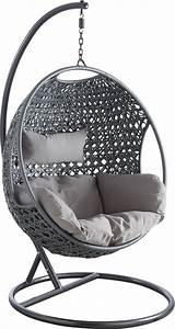 Fauteuil Cocon Suspendu : fauteuil oeuf en polyr sine sur pied cam lia ~ Teatrodelosmanantiales.com Idées de Décoration