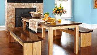 Woodworking Bench Tops by Diy Dining Table Set