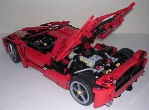 Lego Technic Ferrari : lego technic enzo ferrari auto bild idee ~ Maxctalentgroup.com Avis de Voitures