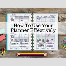 How To Use Your 2016 Planner More Effectively Huffpost