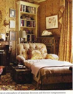 F Schumacher paisley wallpaper and fabric English style ...