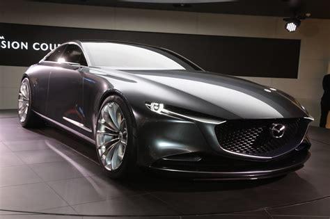 Mazda Vision Coupe Concept Hints At Rwd, Nonrotary