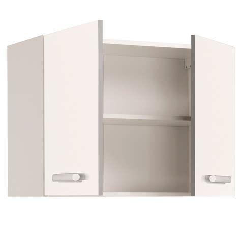 porte de meuble de cuisine meuble haut de cuisine contemporain 2 portes 80 cm blanc
