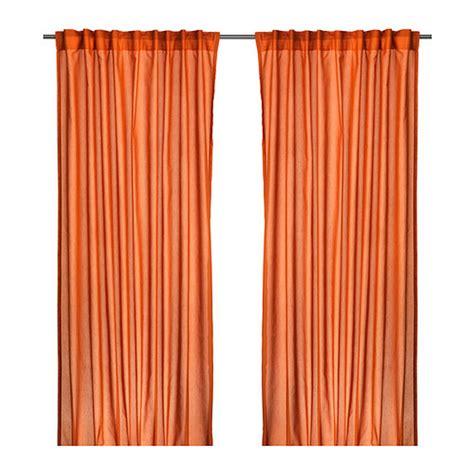 ikea vivan curtains uk ikea vivan curtains drapes orange 2 panels