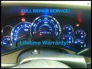 Instrument Cluster Repair 1999 Cadillac Escalade