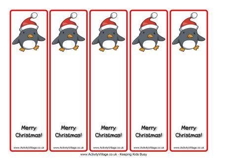 christmas template mark printable christmas bookmarks happy holidays