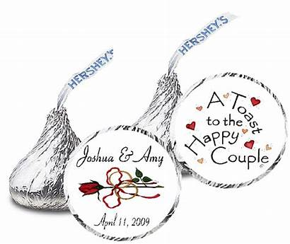 Labels Hershey Kiss Cut