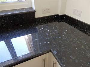 Granite Worktop in Kitchens - Ward Log Homes