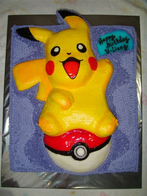 Pikachu Cakes De Ion  Ee  Ideas Ee   Little  Ee  Birthday Ee   Cakes