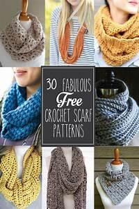 30  Fabulous And Free Crochet Scarf Patterns