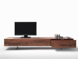 Meuble Tv Design Bois : meuble tv design 23 meubles bas pour moderniser le salon ~ Melissatoandfro.com Idées de Décoration