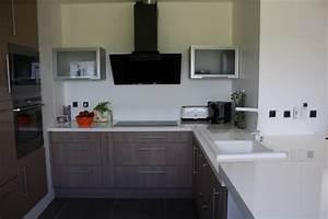 Cuisine Beige Et Bois : cuisine beige fabricant de mobilier sur mesure pour ~ Dailycaller-alerts.com Idées de Décoration