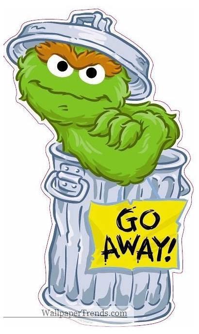 Grouch Oscar Sesame Street Characters Clipart Birthday
