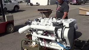 Cummins Marine 6bta 5 9 330b Engine Startup For Jon S
