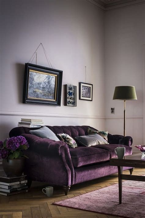 Grey And Purple Living Room Paint by 17 Best Ideas About Purple Living Rooms On