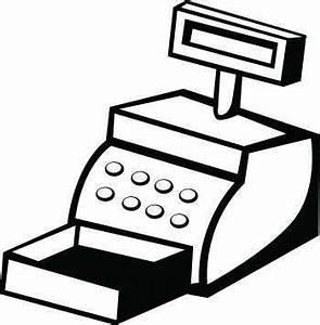 Cash Register | Free Images at Clker.com - vector clip art ...