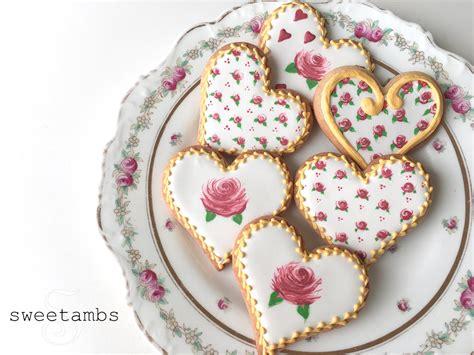 Sweetambs Rose Cookies Recipe