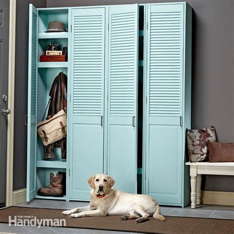 build mudroom lockers  family handyman