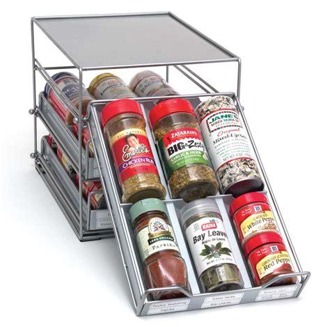 spice drawer organizer  spice racks