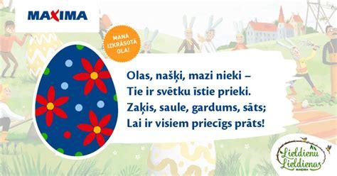Radītās olas - Maxima