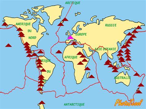 Carte Des Volcans Actifs Dans Le Monde by Cyberenqu 234 Te 7vsb1 Les Volcans