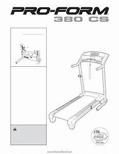 Proform 380 Cs Treadmill